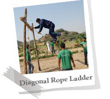 Diagonal Rope Ladder